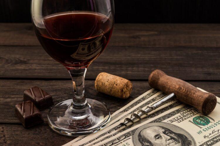 vino i novac najskuplja vina na svijetu